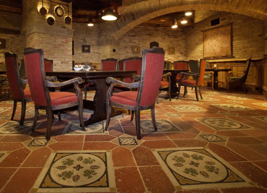 Beltéri padlólapok, Különleges dekorációs burkolatok, ottidesign, ottistones, Rekeszöntéses cementlapok, Terrazzók