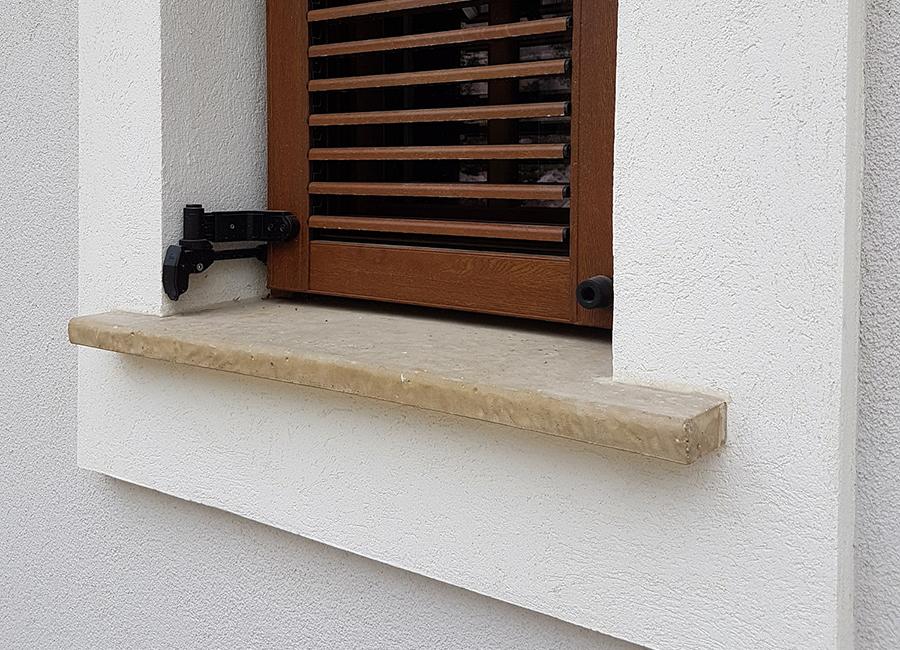 Csopak ablakpárkány és könyöklő