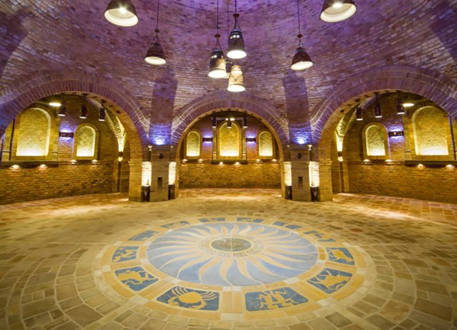 Terrakotta 41-es Íves Hosszú Szegély, Kül-és beltéri beton burkolat, 200 féle szín, Ottikő, Magyar termék, rusztikus kövek